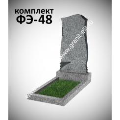 Памятник фигурный ФЭ-48, эконом, светло-серый